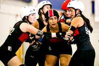 Texecutioners vs Atlanta's Dirty South Derby Girls 8-23-14